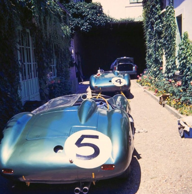 Astons at Chateau 1959
