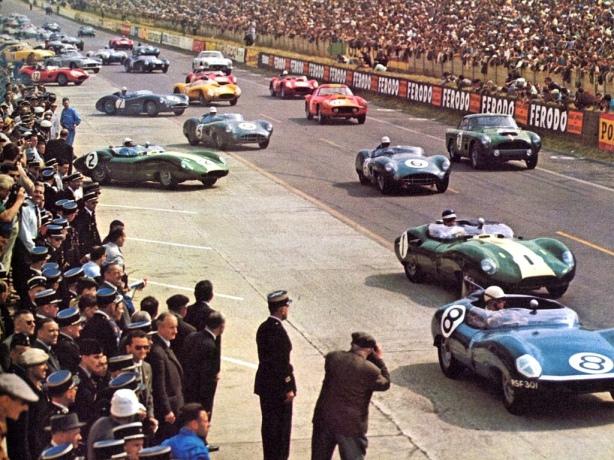 Le Mans 1959 start