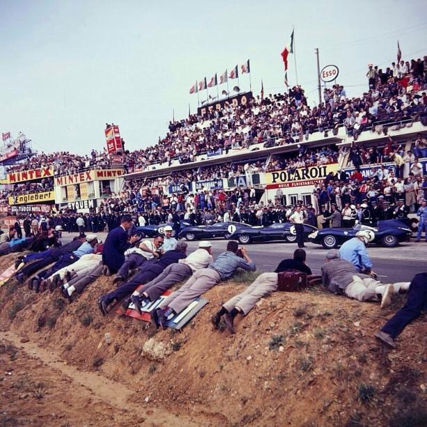 Le Mans grid 1959