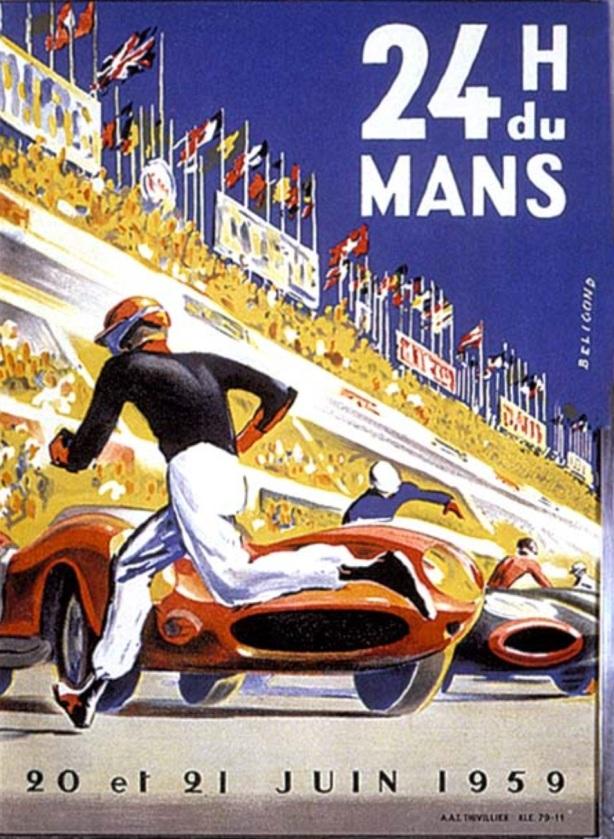 Le Mans poster 1959