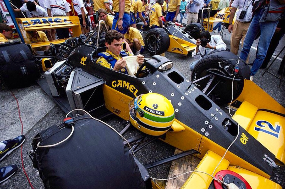 ayrton senna primotipo. Black Bedroom Furniture Sets. Home Design Ideas