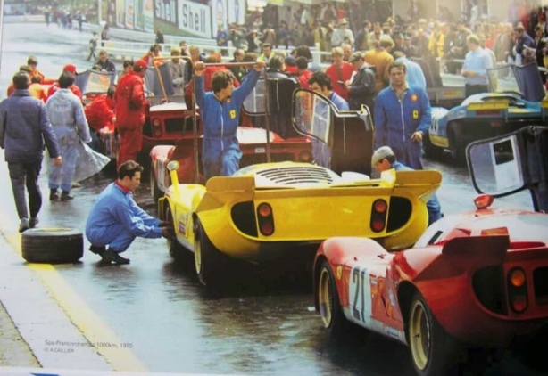 Spa 1000 Km 1970 pits