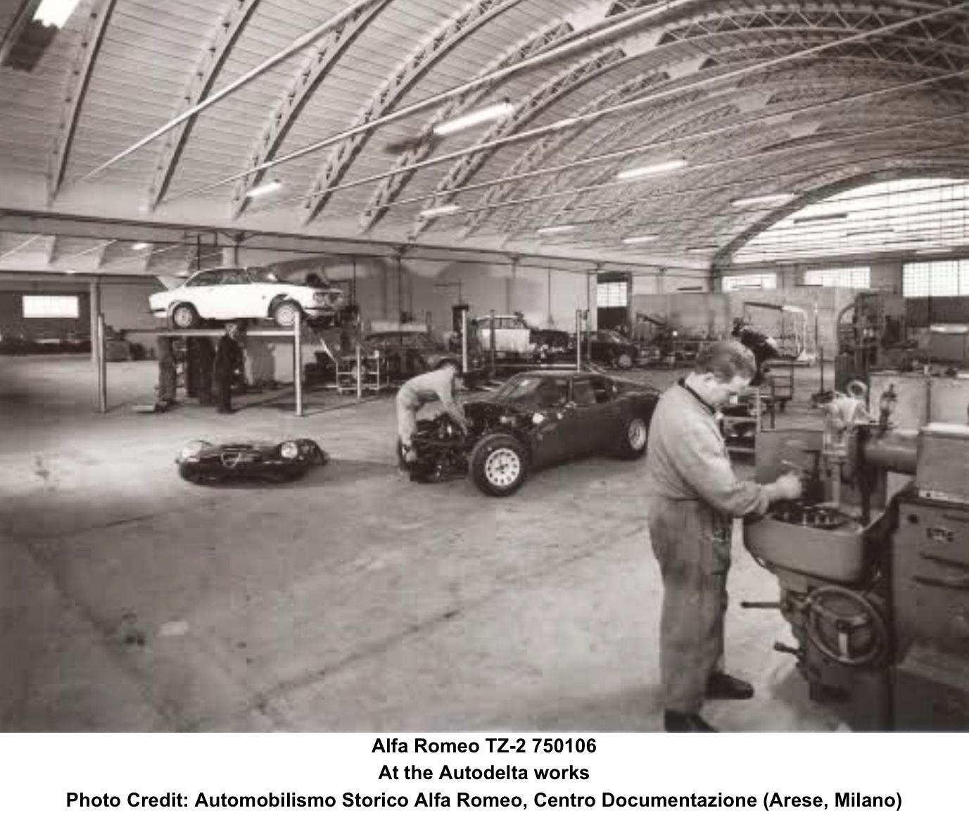 Alfa Romeo TZ2: Sebring 12 Hour 1966…