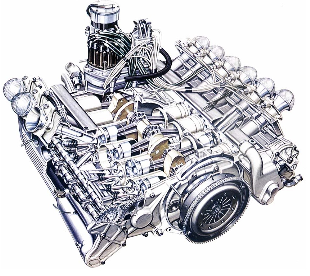 Boxer Engine Designed By Porsche