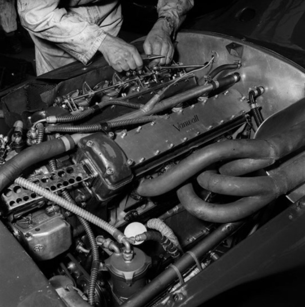 Vanwall engine