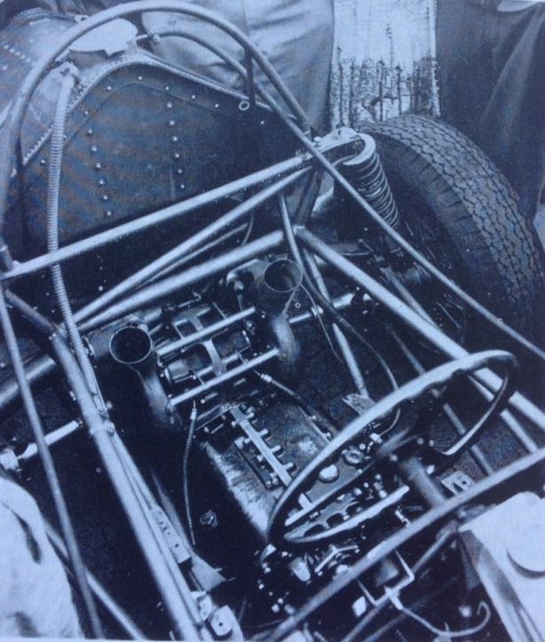 Vanwall rear end