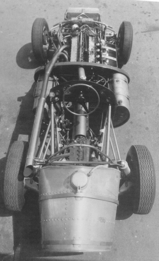 Vanwall VW10 rear
