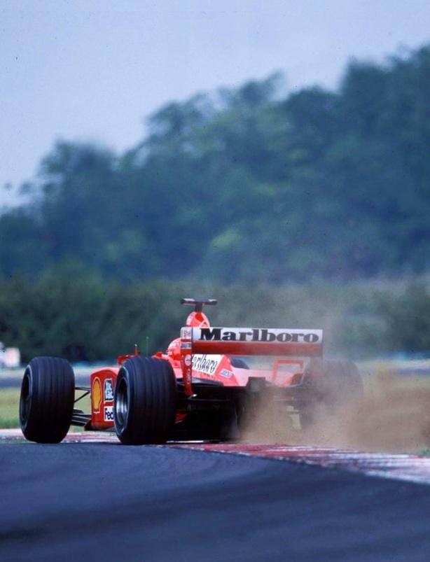 2001 Hungarian GP Schumacher