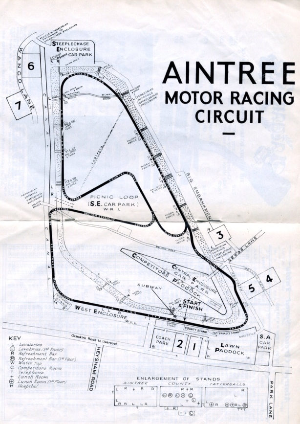 aintree layout