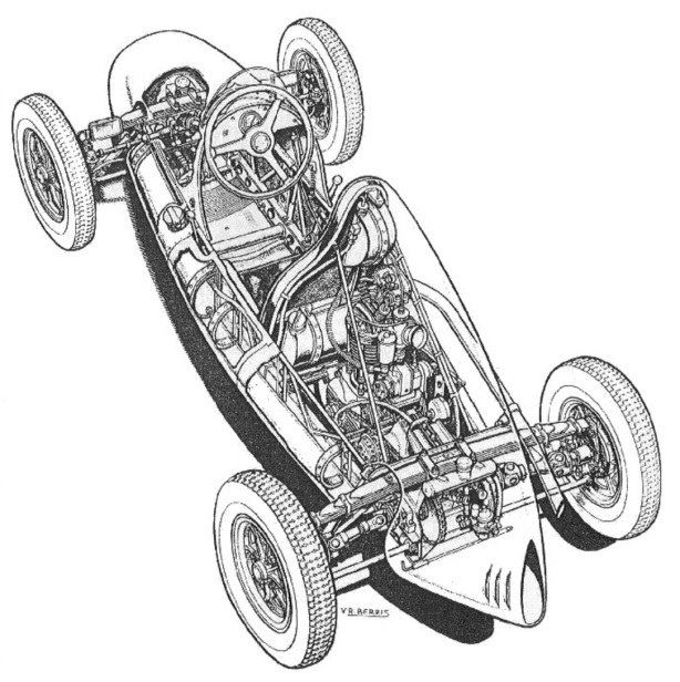 Cooper Mk5 cutaway