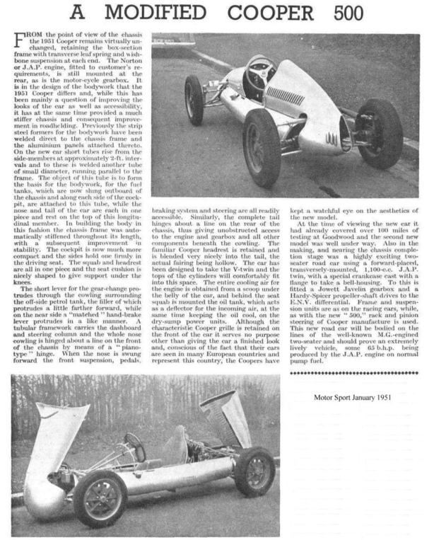 Cooper Mk5 Motorsport article