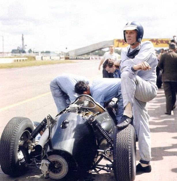 Dan Gurney P48 Silverstone 1960