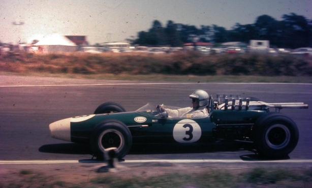 Denny Hulme, Brabham BT22 Repco, 1967 NZ Tasman, Levin