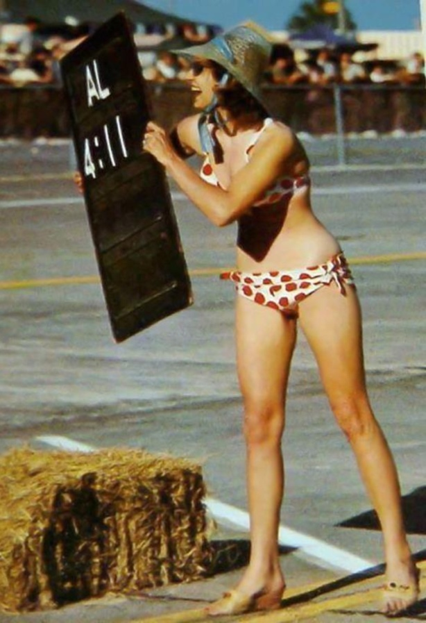 Pitbull Polka Dot Bikini