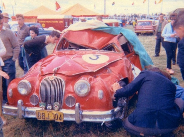 Burns Jag Longford 1964