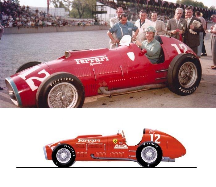 Alberto Ascari Indianapolis
