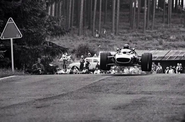 Jackie Stewart, BRM P83, Nurburgring 1967