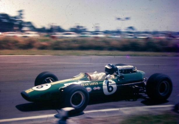 Jim Clark, Lotus 33 Climax, NZ Tasman, Levin 1967