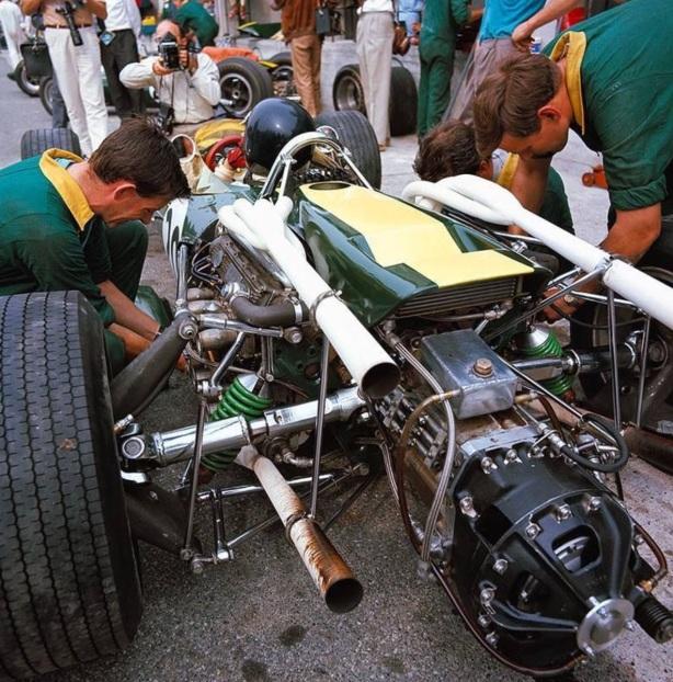 Jim Clark Lotus 43 BRM Italian GP 1966