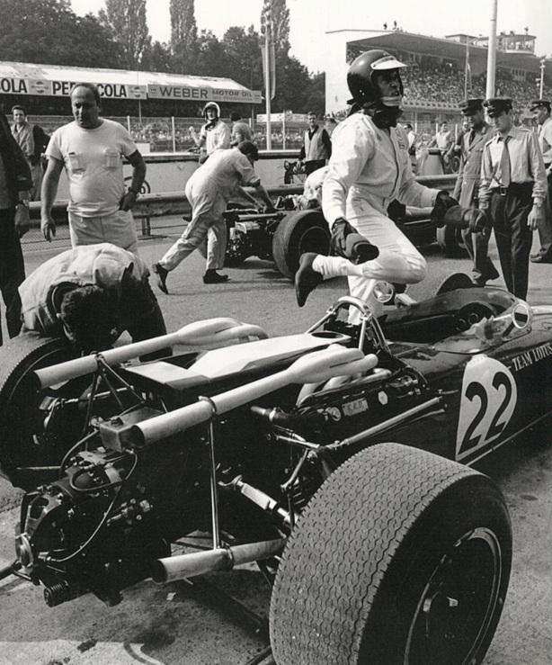 Jim Clark Lotus 43 BRM Monza 1966