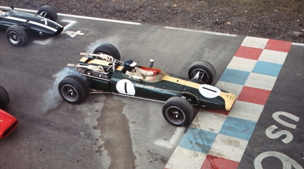 Jim Clark Lotus 43 BRM US GP 1966