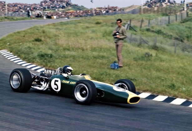 Jim Clark, Lotus 49 Ford, Dutch GP June 1967