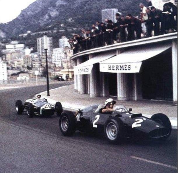 Jo Bonnier P48 BRM Monaco 1960