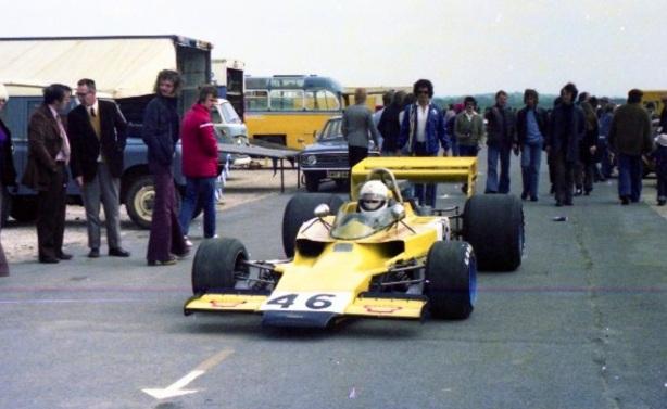 John Taylor lola T330 Thruxton 1975