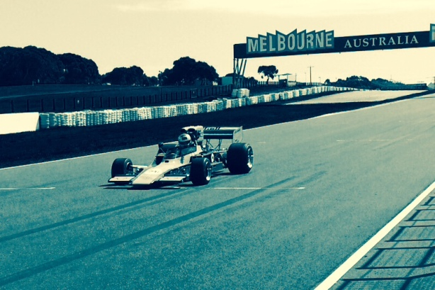 Lola T330 Brennan P Is front straight