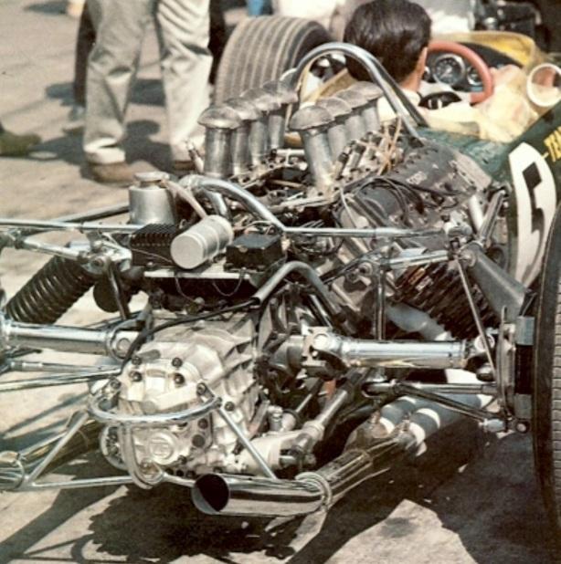 Lotus 49 Ford rear, Clark Dutch GP 1967