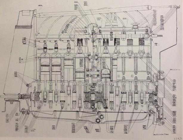 monza engine cutaway