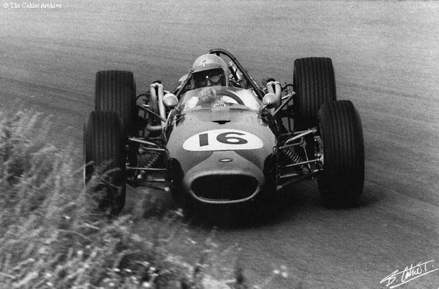 Brabham in BT19 Repco, Dutch GP 1966
