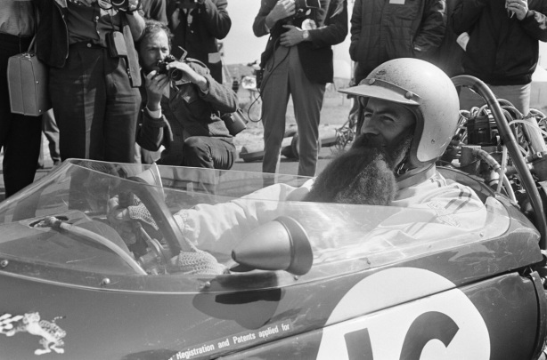 Brabham with beard Dutch GP 1966