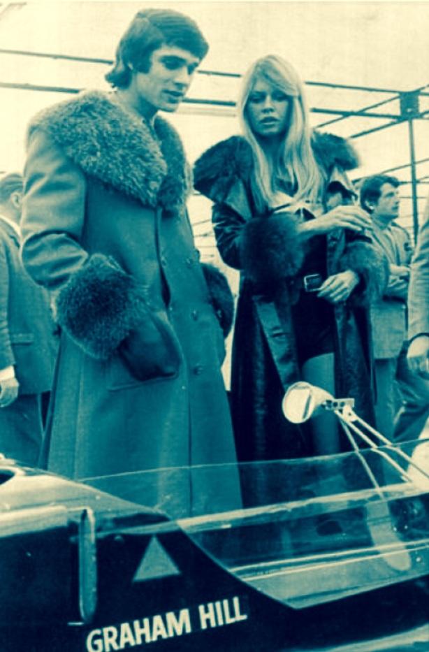 Brigitte and Francois 1971