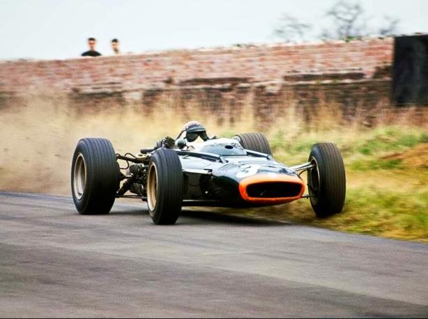 BRM P83, Stewart, Oulton Park 1966