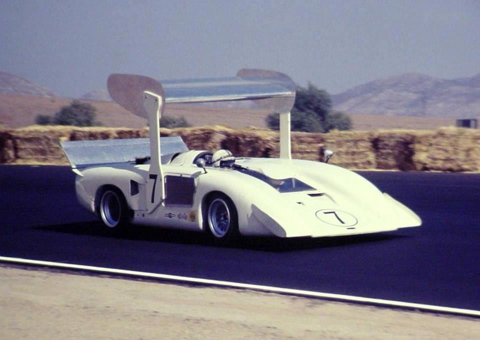 Image result for Chaparral 2H, composite full monocoque chassis