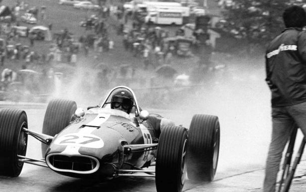 Dan Gurney Eagle T1G Climax, Spa 1966
