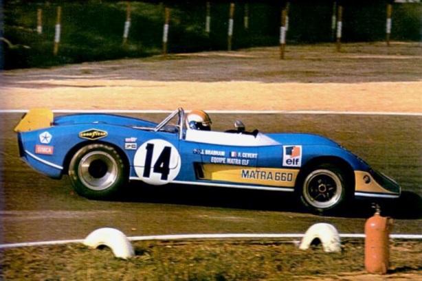 Francois Cevert , Matra MS660, Monthlery 1970