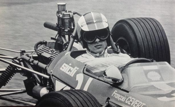 Francois Cevert, Tecno 68 Ford F3 1968