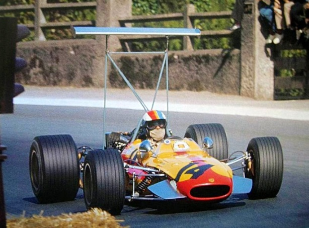 Francois Cevert, Tecno 68 Ford FVA, Pau 1969