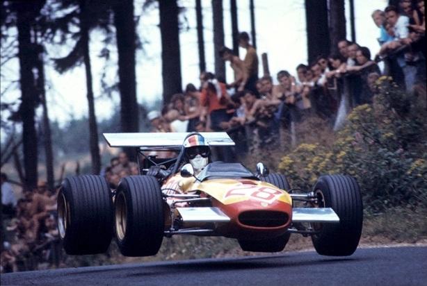 Francois Cevert, Tecno 69 FVA, German GP 1969
