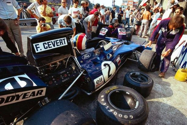 Francois Cevert, Tyrrell 002 Ford, USGP 1971