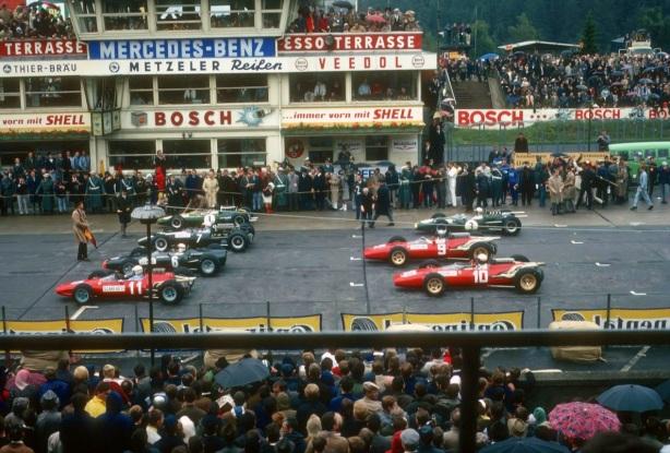 German GP grid 1966