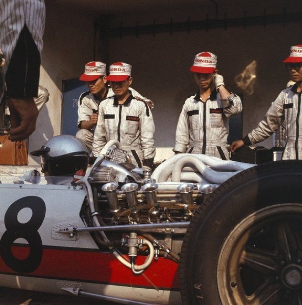 Ginther Honda RA273 , Monza 1966