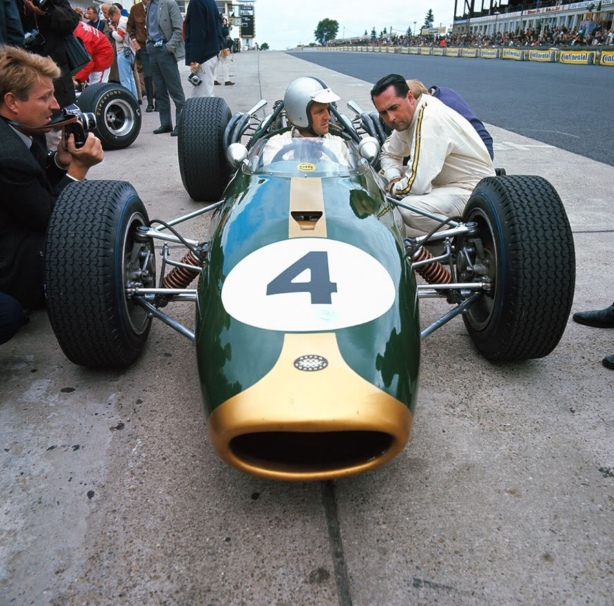 Jack Brabham and Denny Hulme, German GP 1966