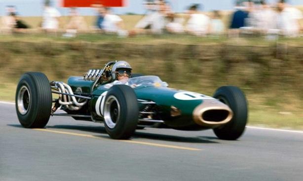Jack Brabham French GP 1966 Brabham BT19 Repco