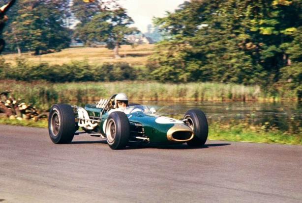 Jack Brabham Oulton Park Gold Cup 1966, Brabham BT19 Repco
