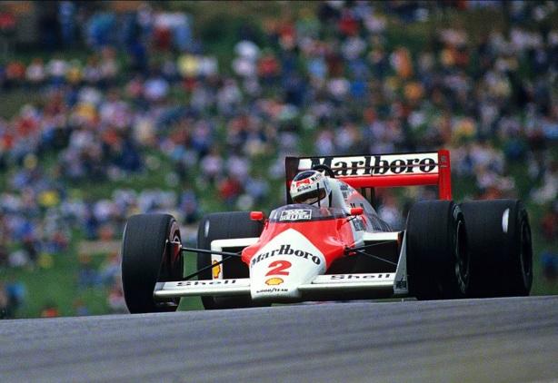 Johannson Austrian GP 1987 McLaren MP4 3 Honda