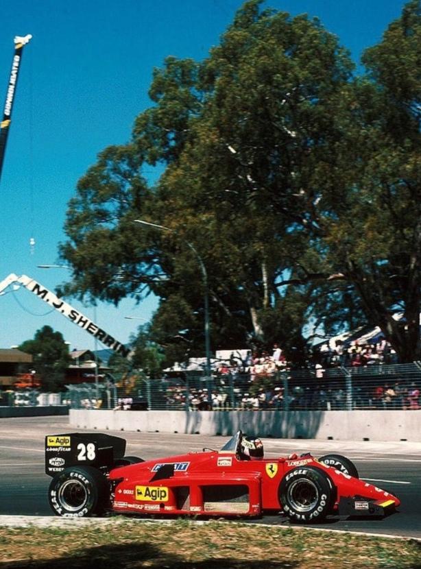 Johannson Ferrari F156-85 Adelaide 1985