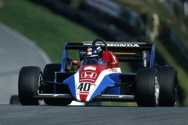 Johannson Spirit Honda British GP Brands 1983